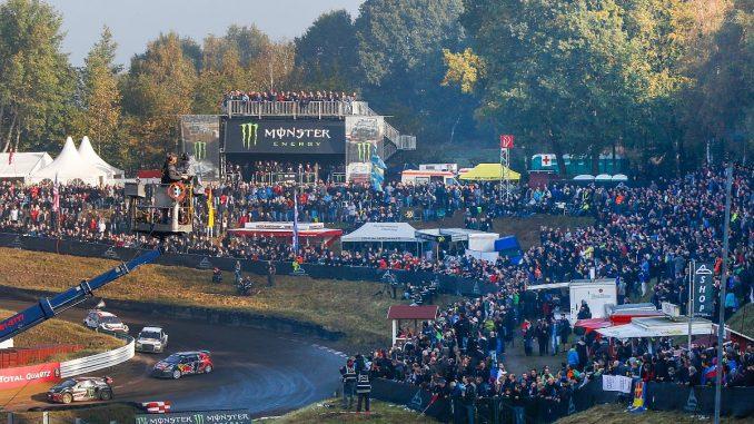 Volles Haus auf dem Estering: Wenn es nach dem BUND geht, dürfte damit bald Schluss sein. Bild: FIAWorldRallycross.com