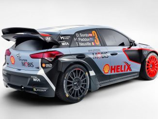 Hyundai i20 WRC aus dem Jahr 2016. Bild: Hyundai