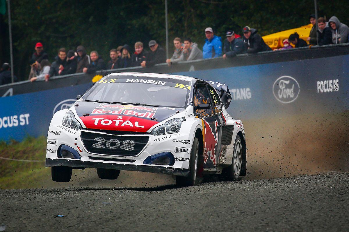 Timmy Hansen: Auch 2018 mit Peugeot? Bild: FIAWorldRallycross.com