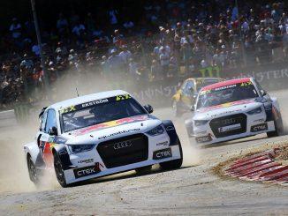 Audi S1 EKS. Bild: FIAWorldRallycross.com