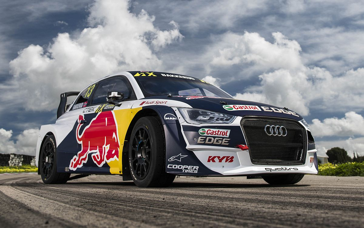 Der neue Audi S1 EKS RX quattro 2018. Bild: EKS Audi Sport