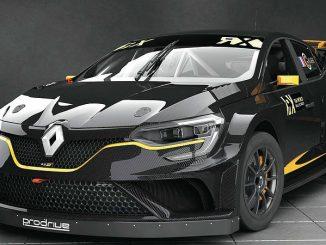 Der neuen Renault Mégane RS RX von GCK. Bild: Prodrive.