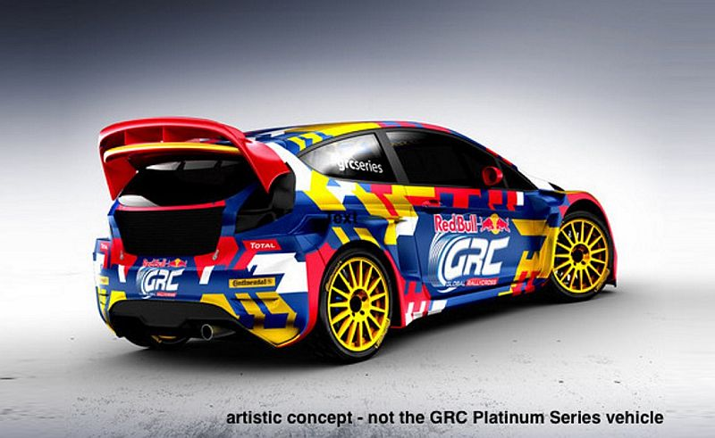 Ein Vorgeschmack auf die neue Platinum Class der GRC. Bild: GRC/MJP Racing Rallycross