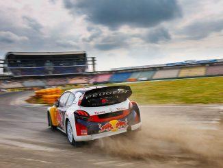Sébastien Loeb in Hockenheim 2017. Bild: FIAWorldRallycross.com