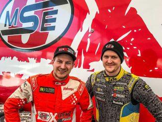 Kevin Eriksson und Robin Larsson. Bild: MSE