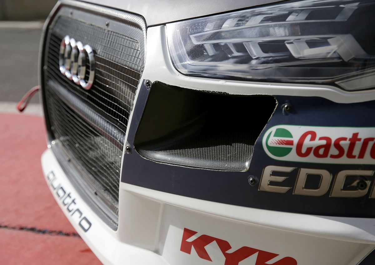 Audi S1 EKS RX quattro. Bild: Ferdi Kräling Motorsport-Bild GmbH