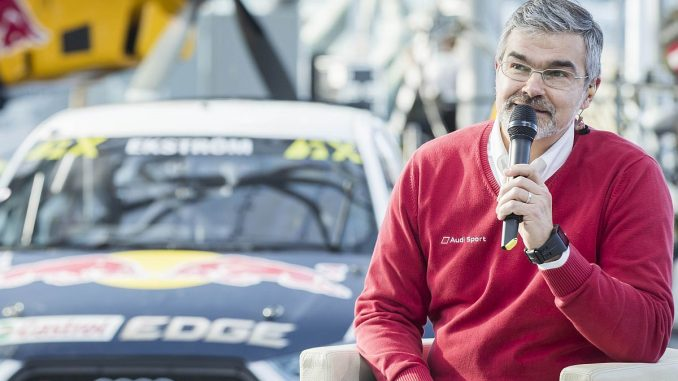 Head of Audi Motorsport Dieter Gass. Bild: Audi AG