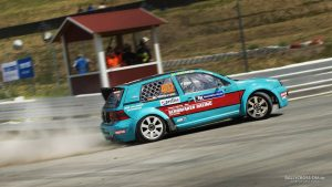 Titelverteidiger Marco Wittkovski. Bild: Rallycross-DM.de
