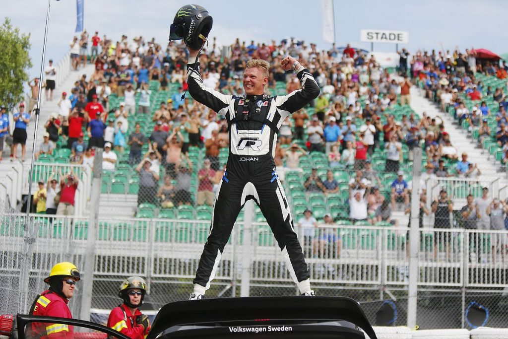 Triumphiert Johan Kristoffersson auch in Riga? Bild: FIAWorldRallycross.com