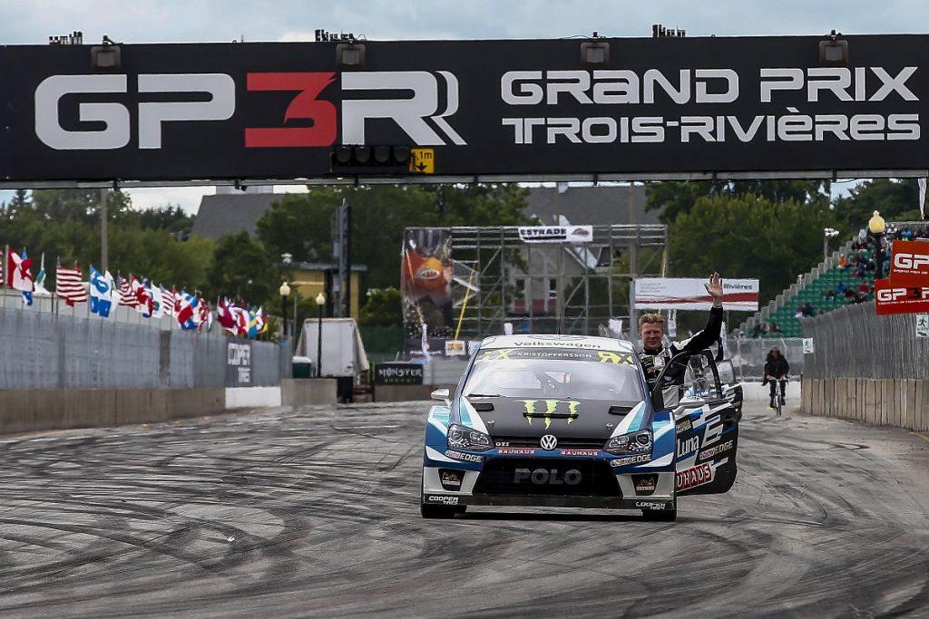 Gewann im Vorjahr: Johan Kristoffersson. Bild: FIAWorldRallycross.com