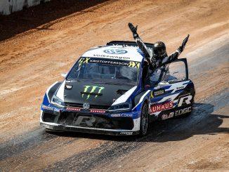 Johan Kristoffersson: Alter und neuer Weltmeister Bild: FIAWorldRallycross.com
